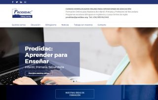 Nueva web Prodidac