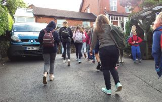 Grupo escolar visita Inglaterra